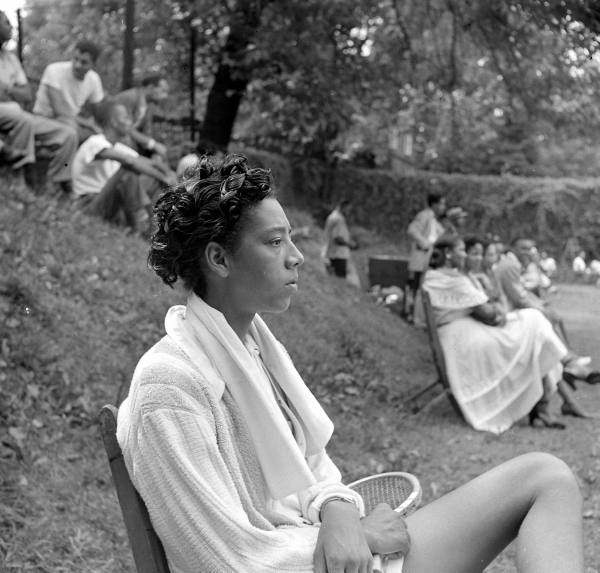 Althea Gibson. Photo by Gordon Parks.